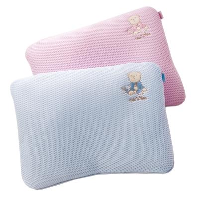 【奇哥】立體超透氣嬰兒塑型枕 (2色選擇)
