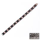 【KOTO】低調奢華中珠玫瑰金精密陶瓷手鏈(C-001RGD)