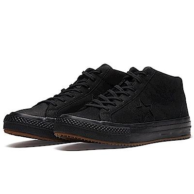 CONVERSE-男中筒休閒鞋158832C-黑