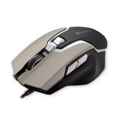 Verbatim威寶 VM1 巴德爾電競滑鼠四段切換七鍵式