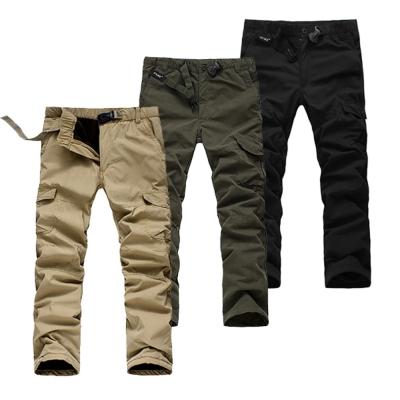 美國熊 寒流防風保暖 鋪棉內裡冬季六袋款工作褲