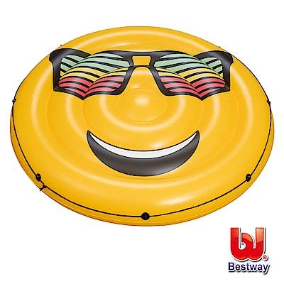 凡太奇 Bestway 夏日風情-笑臉陽光充氣浮排 43139