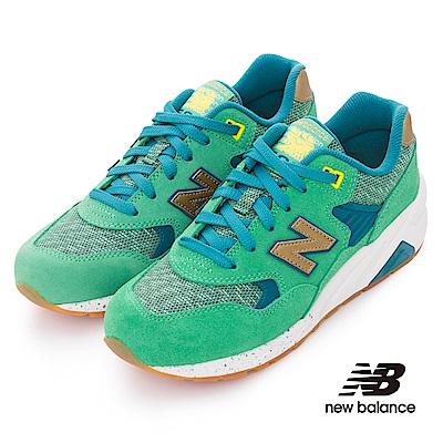 New Balance 580復古鞋WRT580LA女性綠色