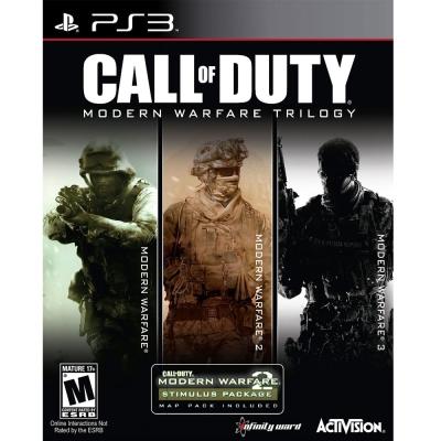 決勝時刻:現代戰爭 三部曲  Call of Duty Modern-PS3英文美版