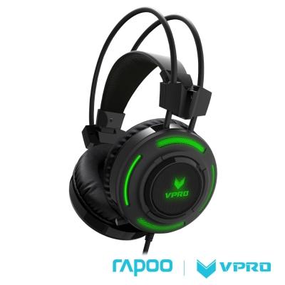 雷柏 RAPOO VPRO 炫光遊戲耳機VH200