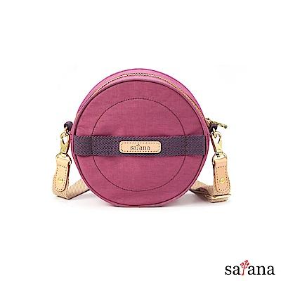 satana - 翻滾吧!斜背包 - 霧紫紅