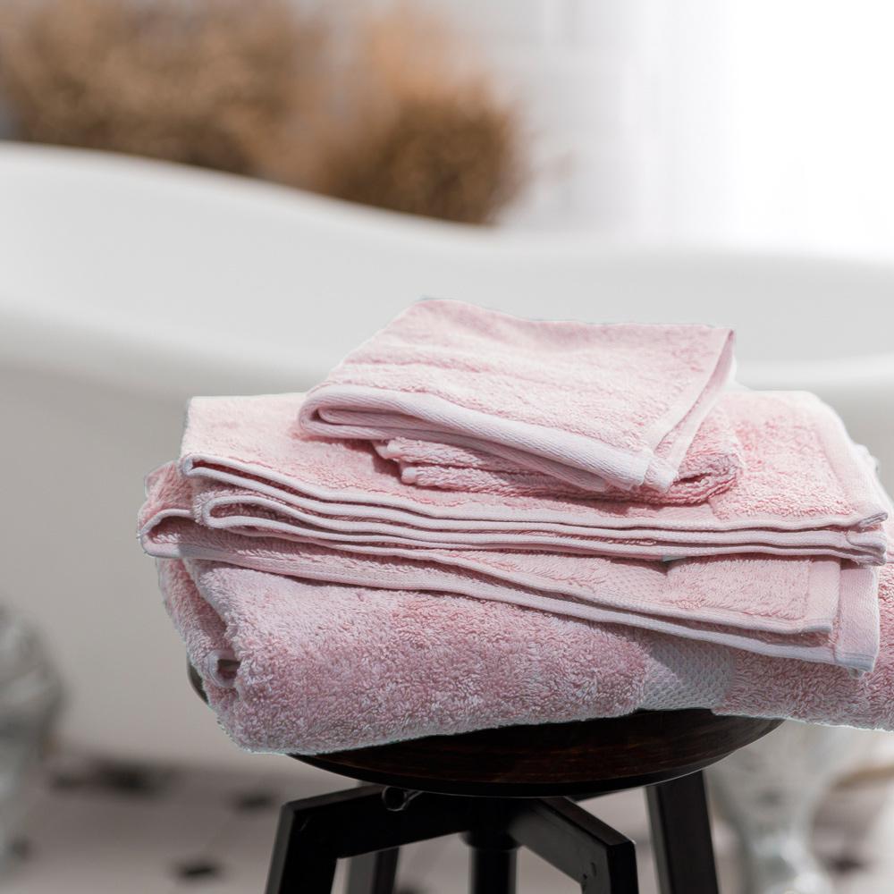 Canningvale 澳洲家用品牌 頂級埃及棉厚磅浴巾 -粉