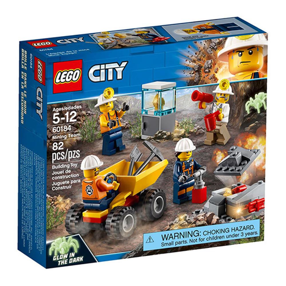 LEGO樂高 城市系列 60184 採礦小隊