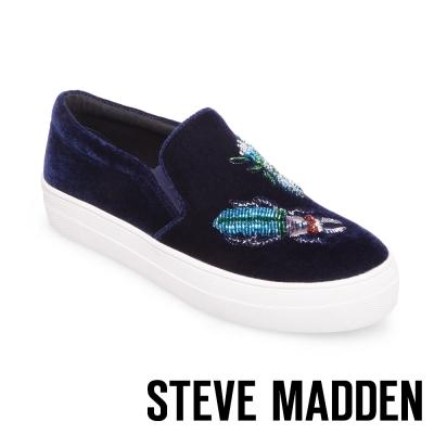 STEVE MADDEN-GULLY-BLUE-厚底懶人鞋-藍色