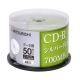三菱 MITSUBISHI 日本限定版 CD-R 700MB 48X 光碟可燒錄片50片 product thumbnail 1