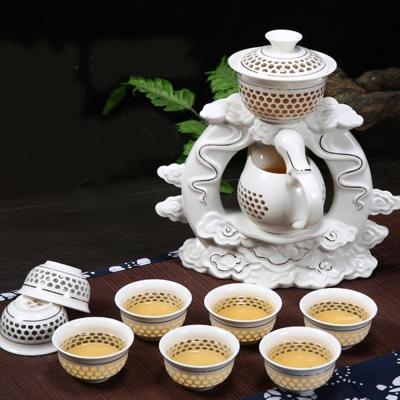 Pure 天降祥瑞茶造型自動茶具10件組