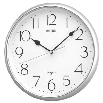 SEIKO 日本精工 標準型 小時鐘(QXA001S)-白/28cm