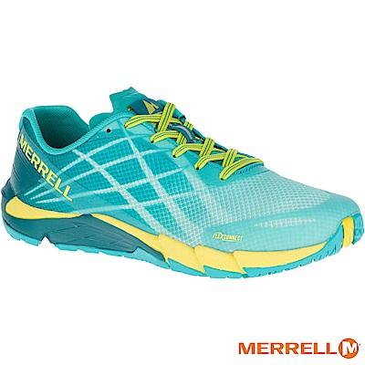MERRELL BARE ACCESS FLEX 女跑鞋-綠(09648)