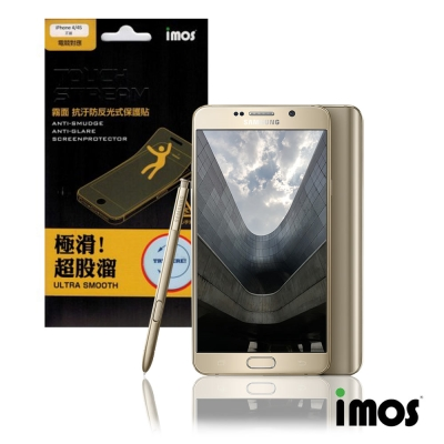 iMos Touch Stream Samsung Galaxy Note5霧面抗污防反光