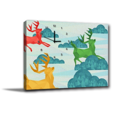 美學365-單聯無框圖畫藝術家飾品掛畫油畫-沙漠駱駝-30x40cm