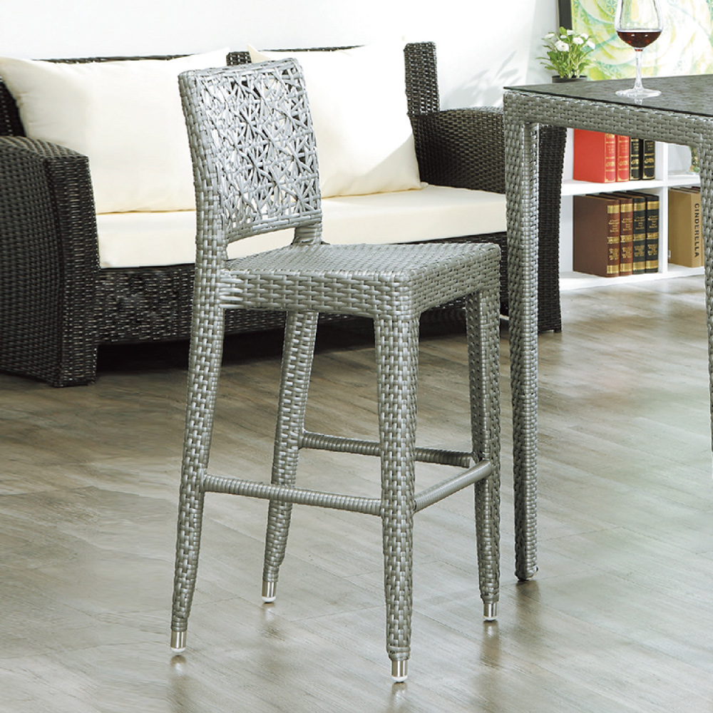 AS-克里夫藍高腳椅-41x37x110cm