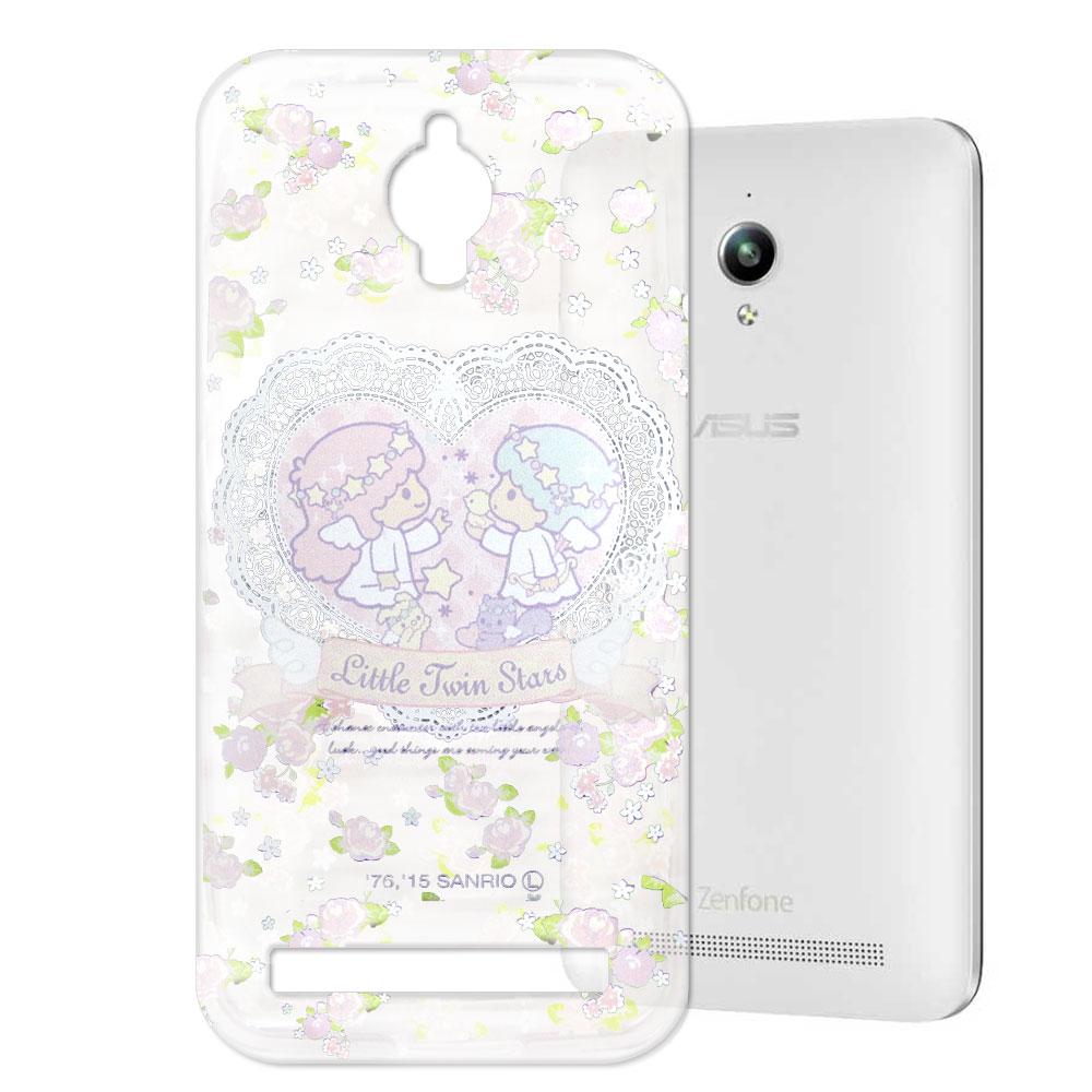 KikiLala Asus Zenfone GO 透明軟式手機殼 天使雙子星款