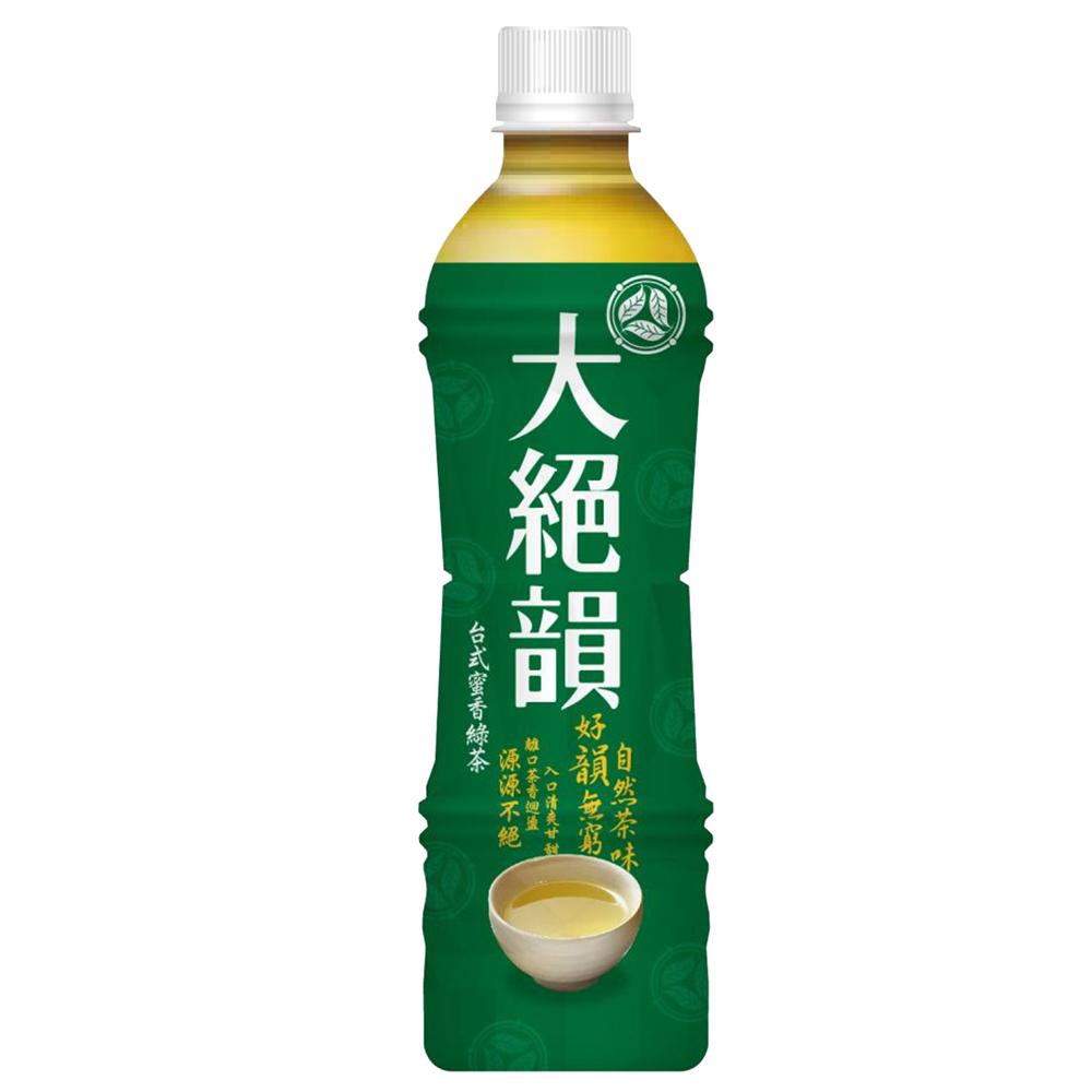 大絕韻台灣綠茶(有糖)530cc*6入