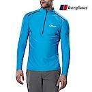 【Berghaus貝豪斯】男款銀離子除臭抗菌抗UVT恤S15M18-藍