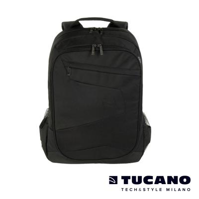 TUCANO-LATO-15-17吋城市多功能收納後背電腦包-黑