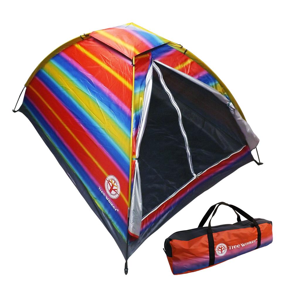 Tree Walker 彩虹單層雙人露營帳篷