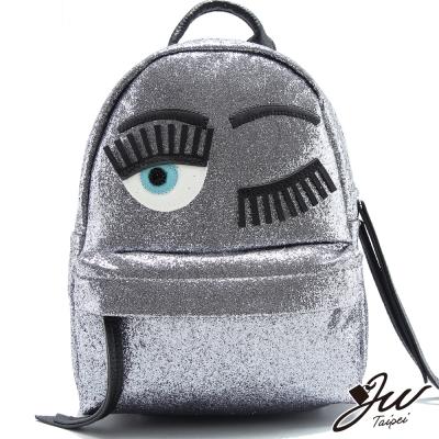 JW-後背包-頑童精靈電眼閃亮後背包-小版-共四色
