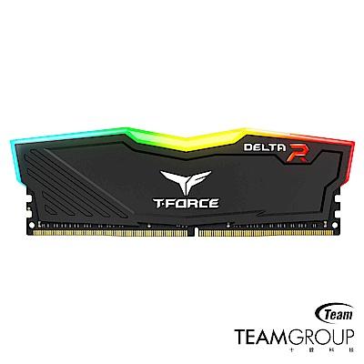 Team十銓 Delta RGB黑色 DDR4-3000 16GB(8GB*2)