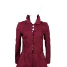 RED VALENTINO 紅色花邊剪裁外套