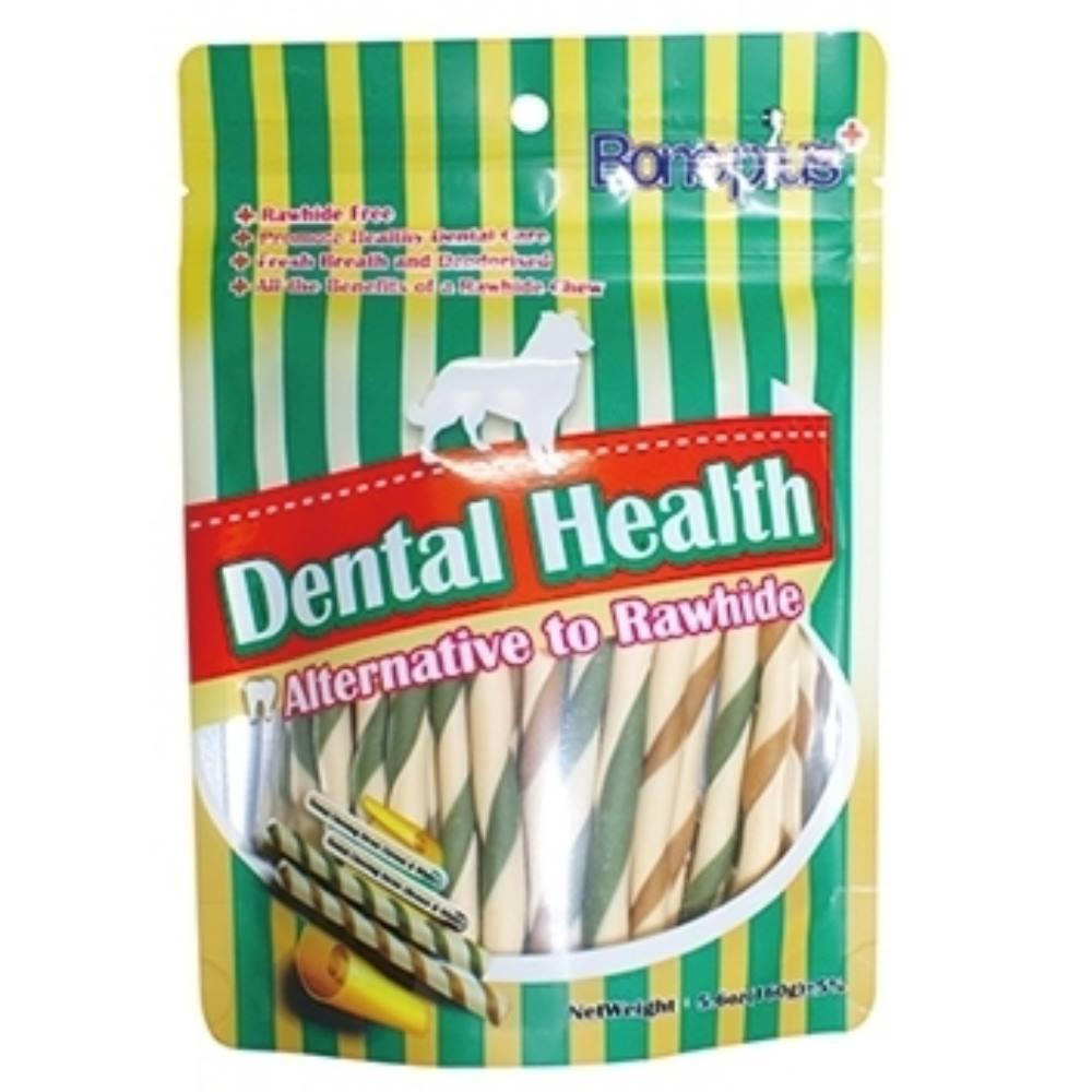 Bone Plus 高鈣雙色潔牙軟笛酥160g《袋裝》