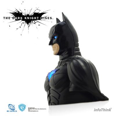 InfoThink【黑暗騎士 黎明升起~蝙蝠俠造型多功能精品胸像公仔】16GB