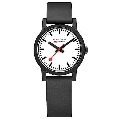MONDAINE 瑞士國鐵essence系列腕錶-32mm/白