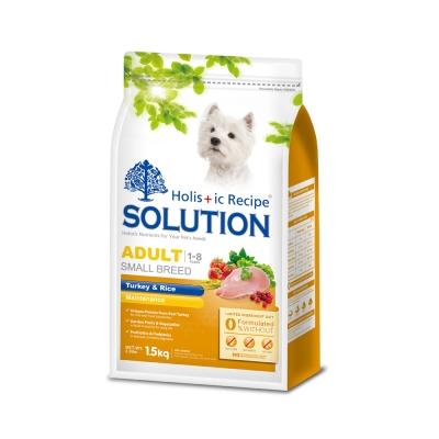 SOLUTION 耐吉斯 成犬 高適口性配方 火雞肉&田園蔬菜 15公斤 X 1包