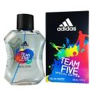 ADIDAS愛迪達 五人團隊運動男性淡香水 100ml