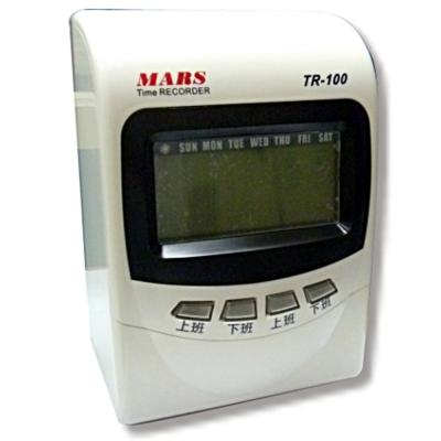 MARS TR-100 【變色螢幕】微電腦打卡鐘