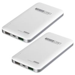 (兩入組) TOTOLINK 10000mAh 超薄快充行動電源 TB10000 白