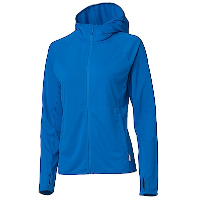 【HAKERS】女 抗UV防曬外套-灰藍