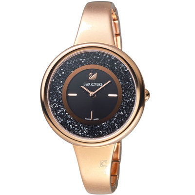 SWAROVSKI 施華洛世奇 Crystalline Pure 系列璀璨耀眼腕錶-