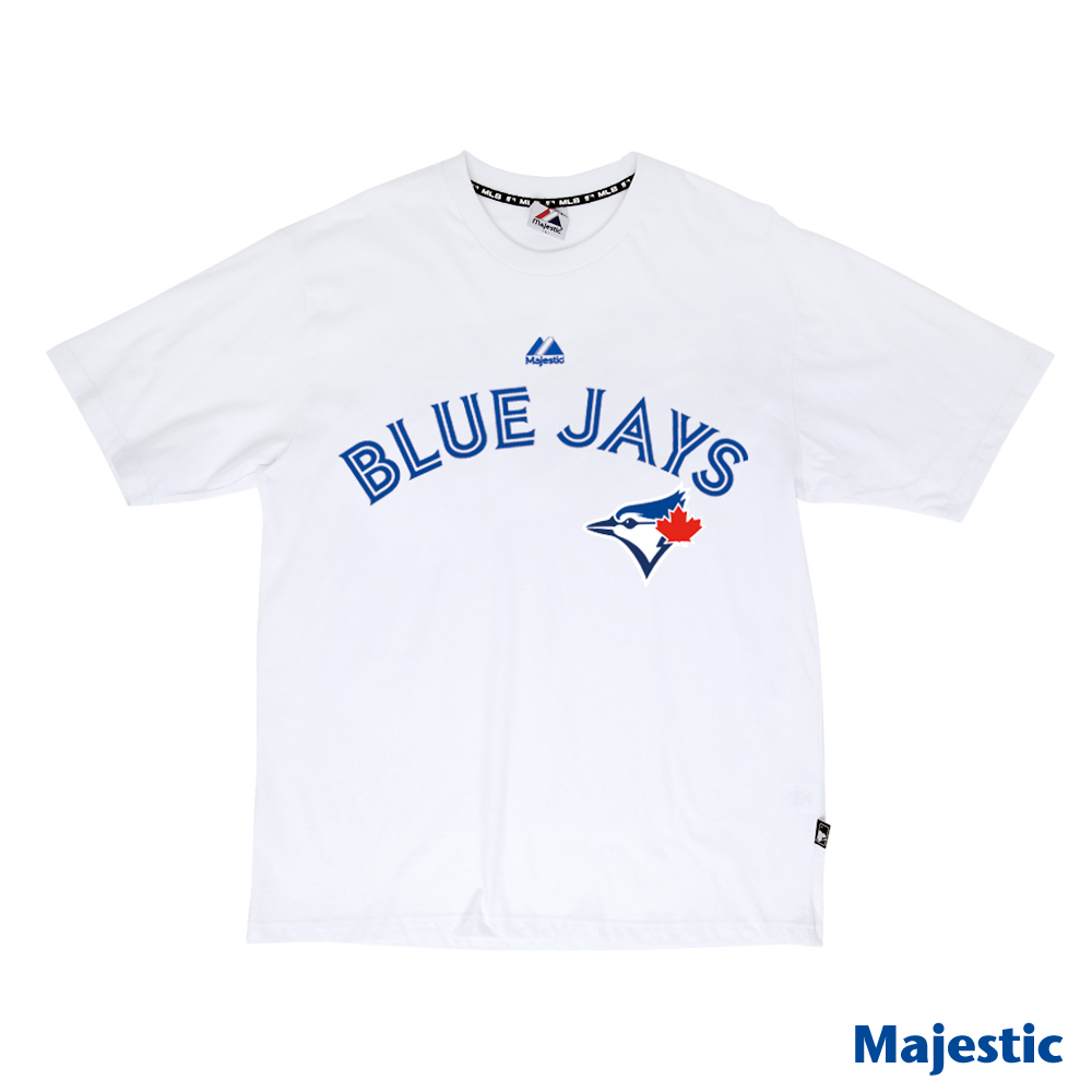 Majestic-多倫多藍鳥隊吸濕排T汗T恤-白