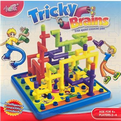 《Tricky Brains》策略型益智水管接連多人遊戲玩具組