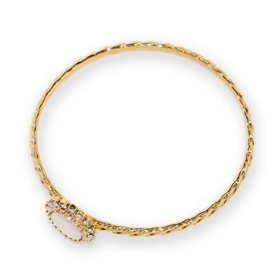 Luce Costante Holiday系列水晶珍珠手環