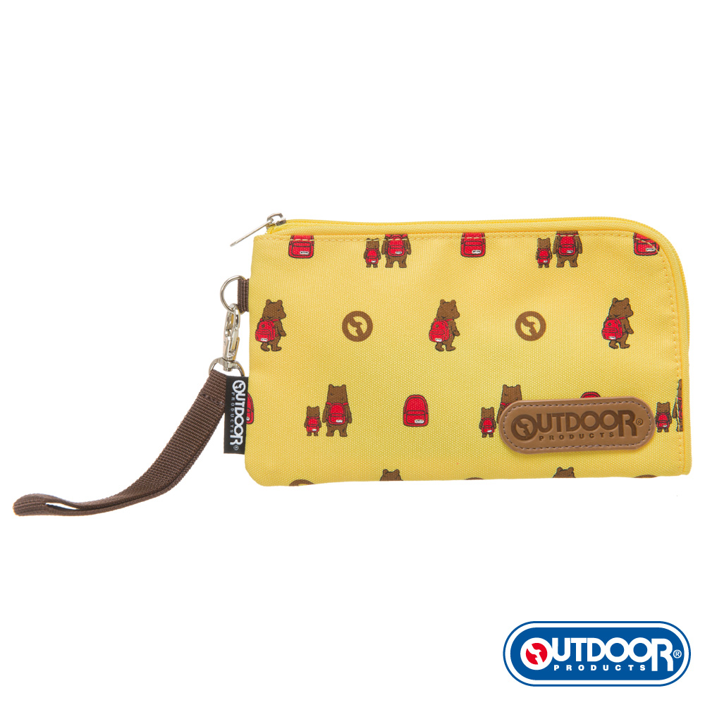 OUTDOOR-有BEAR而來系列-萬用包-黃 ODS162B03YL