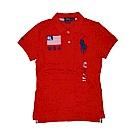 Ralph Lauren 短袖 POLO 素面 紅 0584