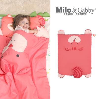 棉被-Milo&Gabby 動物好朋友-立體造型暖暖蓋被 (LUCY松鼠)