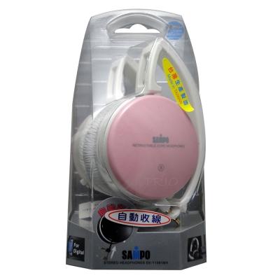 SAMPO 聲寶可摺疊收線頭戴式耳機EK-Y1061MH