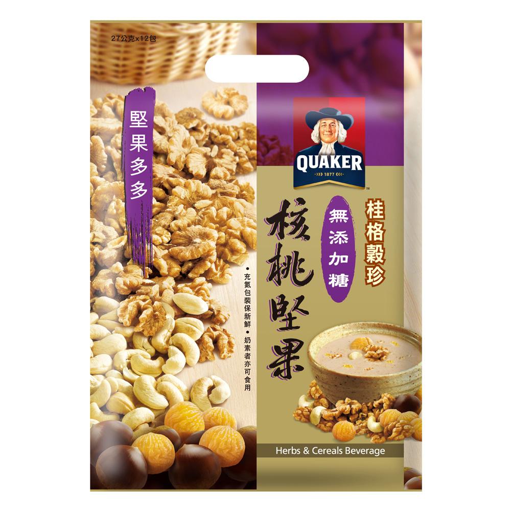 桂格 堅果多多無糖核桃堅果(27gx12包)