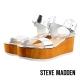 STEVE MADDEN--一字厚底涼鞋-閃