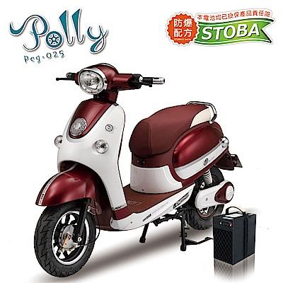 向銓POLLY電動自行車PEG-025搭配防爆鋰電池