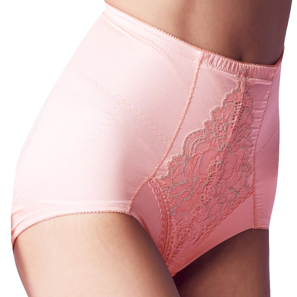 【思薇爾】柔塑曲線系列中重機能短筒束褲(輕柔粉)