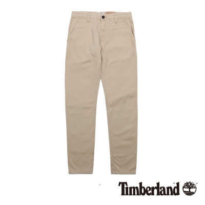 Timberlnd-男款淺褐色戶外純棉薄款休閒褲