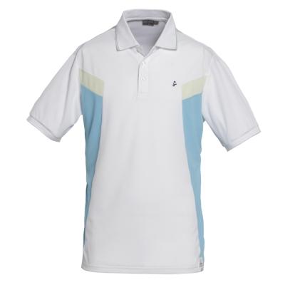 hilltop山頂鳥-男款涼感紗彈性短袖POLO衫